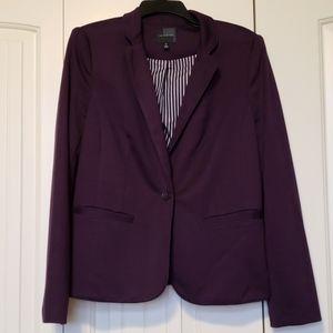 Soft purple suit jacket